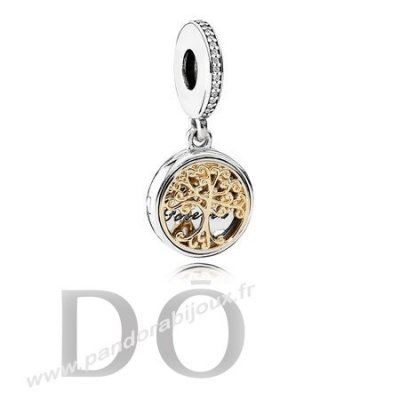 Achat Dangle Charms Famille Roots Clear Cz pandorabijoux.fr