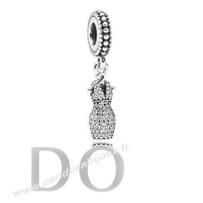 Achat Pandora Dangle Charms Dazzling Robe Dangle Charm Clear Cz pandorabijoux.fr