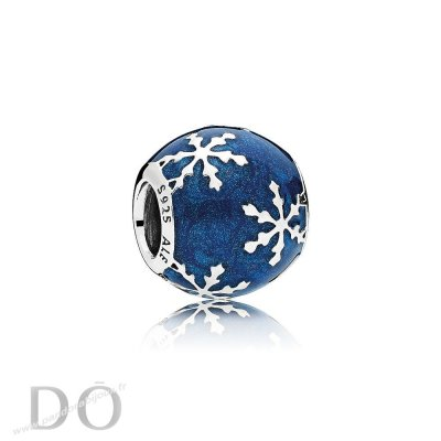 Achat Nature Charms Charme Delice Midnight Blue Enamel pandorabijoux.fr