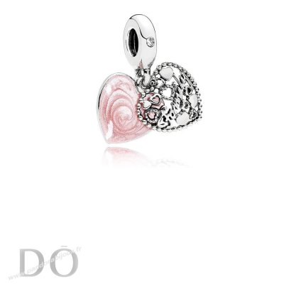 Achat Pandora Dangle Breloques Amour Makes A Dangle Charme Familial Rose Email Clear Cz pandorabijoux.fr