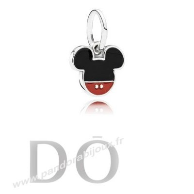 Achat Disney Charms Mickey Icon Mixed Email pandorabijoux.fr