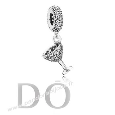 Achat Pandora Dangle Breloques Night Out Dangle Charm Clear Cz pandorabijoux.fr