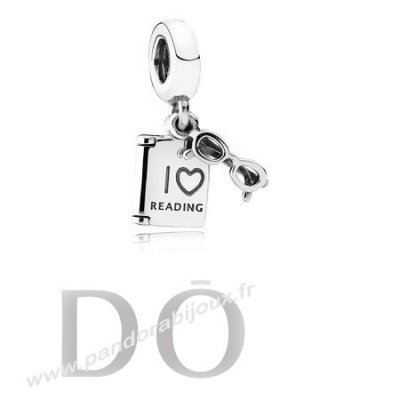 Achat Pandora Passions Charms Carriere Aspirations Amour Lecture Charme pandorabijoux.fr