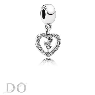 Achat Disney Amour Tinker Bell Dangle Charm Clear Cz pandorabijoux.fr