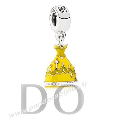Achat Disney Charms Belle Robe Mixed Email pandorabijoux.fr