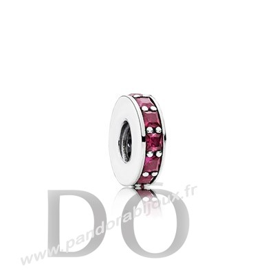Achat Pandora Espaceurs Charms Eternity Spacer Synthetic Ruby pandorabijoux.fr